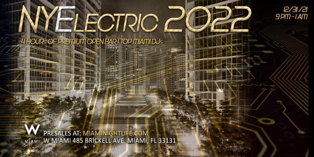 W Miami New Years Eve Party 2022
